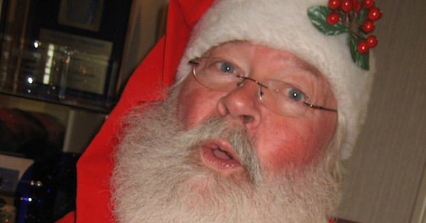 A Cautionary Tale: Even Santa Isn't Perfect