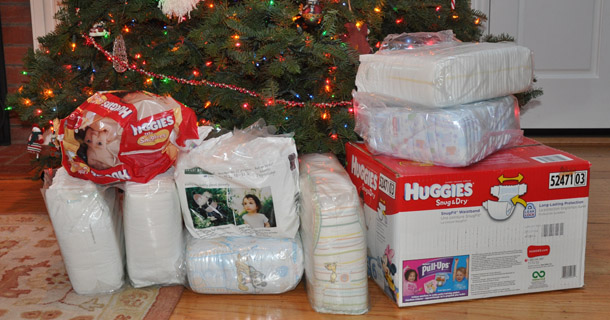 Diaper Drive Thank You