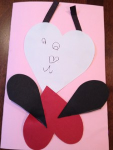 1allhearts 227x300 DIY Football Valentines and More