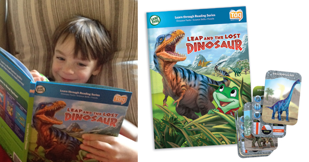 Review: Leap and the Lost Dinosaur