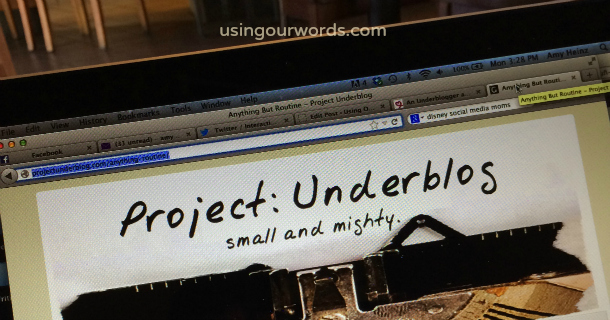An Underblogger at Heart