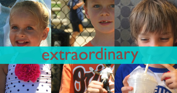 Let's Celebrate Our Extraordinary Kids