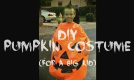 DIY Pumpkin Costume…For a Big Kid