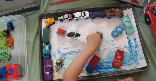 Simple, Creative Painting Projects for Kids