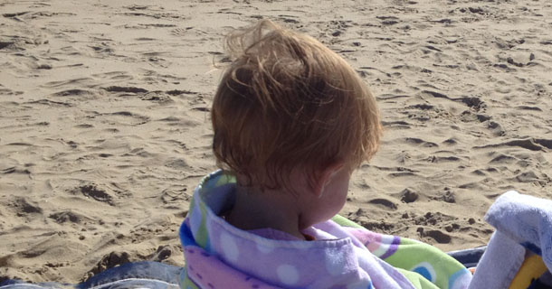 The Baby and The Beach