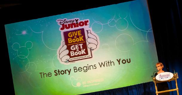 Give a Book, Get a Book – More Disney Junior Magic