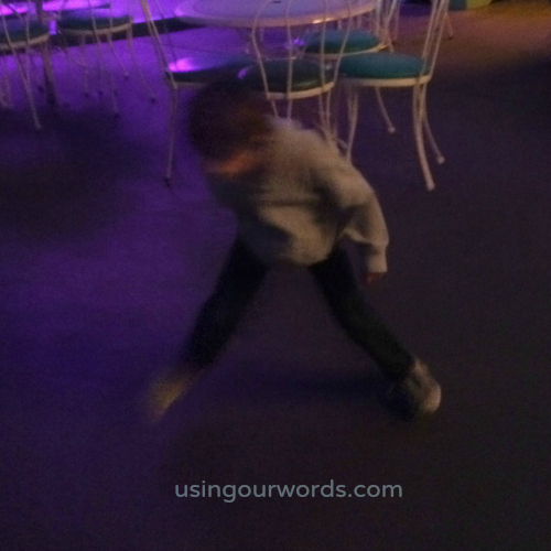 Little cutting a rug in Toontown