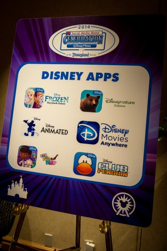Just a few of the fun Disney Interactive apps.