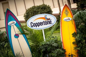 Love that the Coppertone girl has represented summer fun since I was young.